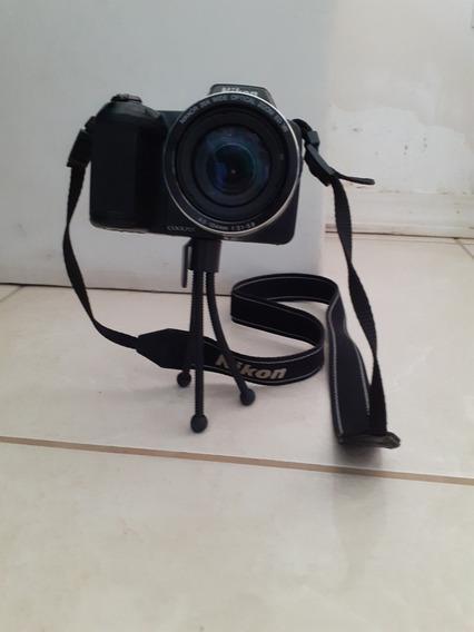 Câmera Nikon Coolpix L810 Baixou O Preço Para Sair Logo!
