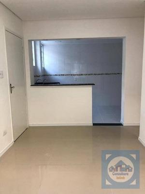 Sala Living Com 1 Dormitório À Venda, 38 M² Por R$ 149.000 - Itararé - São Vicente/sp - Kn0470