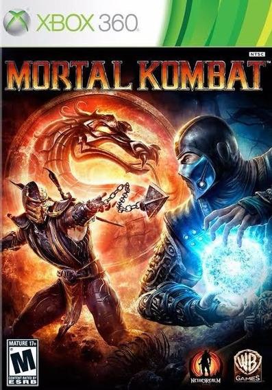 Mortal Kombat 9 Xbox 360 Mídia Digital Compartilhada+ Leia