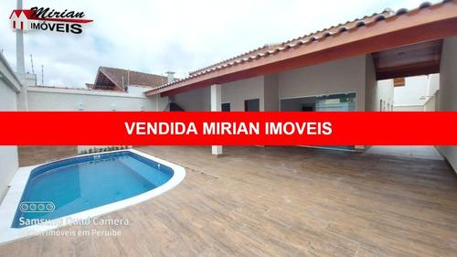 Linda Casa Nova Em Bairro Nobre Com Piscina Pertinho Do Mar - Ca01458 - 68909548