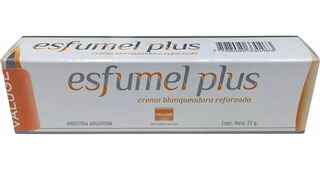 Esfumel Plus Crema Blanqueadora Para Manchas X 15g