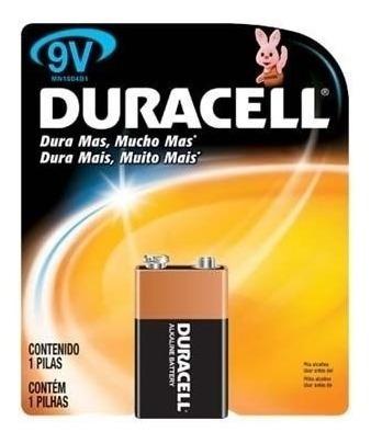 6 Baterias 9v Duracell Original!!!!