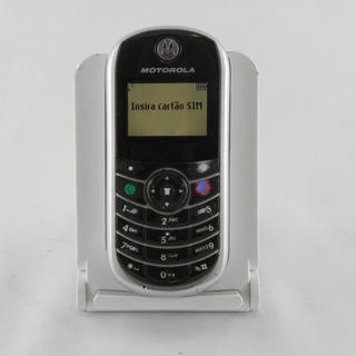 Motorola C139 Desbloqueado Gsm Prata - Usado