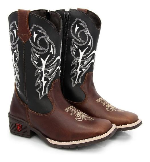 Botinha Texana Country Infantil Masculina/feminina Cowboy
