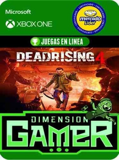 Dead Rising 4 - Xbox One Modo Local + En Linea