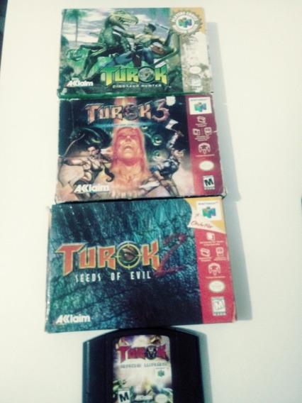 Lote Jogos Nintendo 64