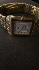 Relógio De Pulso Orient. Corpo E Pulseira Dourada.