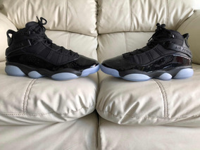 Tenis Air Jordan Six Rings Black Ice Del 26mx