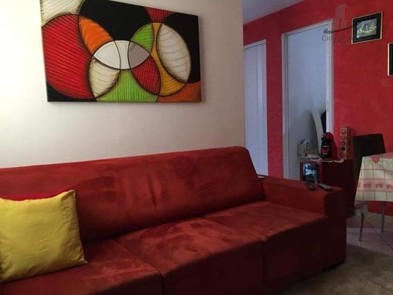 Apartamento Com 2 Dormitórios À Venda, 57 M² Por R$ 213.000 - Vila Baeta Neves - São Bernardo Do Campo/sp - Ap1160