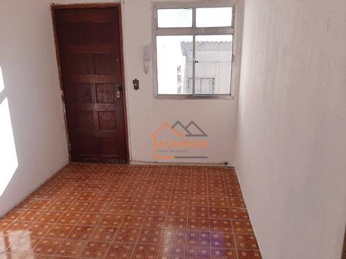 Imagem 1 de 27 de Apartamento Com 2 Dormitórios À Venda, 48 M² Por R$ 165.000,00 - Conjunto Residencial José Bonifácio - São Paulo/sp - Ap0522