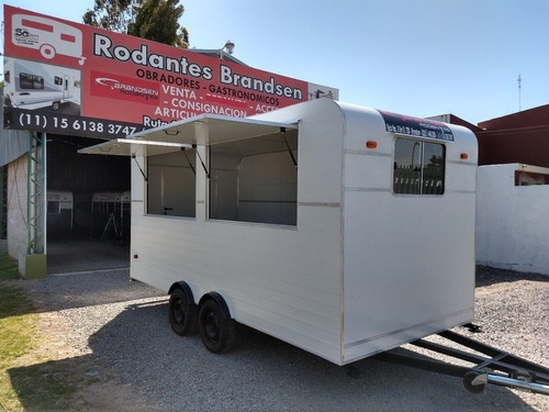 Imagen 1 de 15 de Trailer Rodantes Brandsen Gastronomico 4,50  D-eje Balan