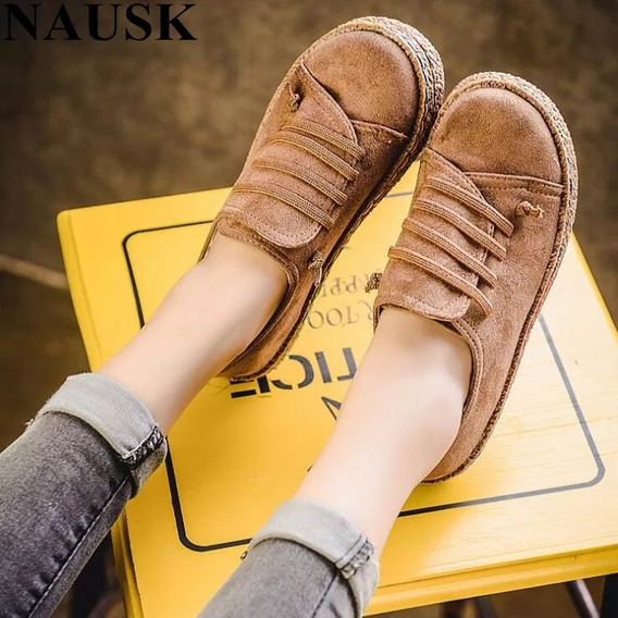 Zapatos Casuales De Mujer Aa1