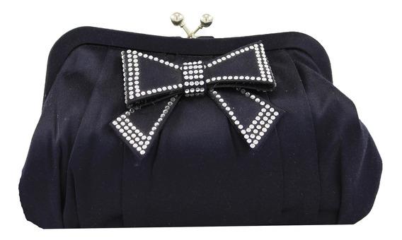 Cartera Clutch Fiesta Mujer Fashion Exclusivo Lazo