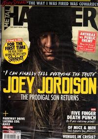 Joey Jordison The Prodigal Son Returns - Metal Hammer
