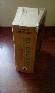 Libro De Calculo Con Geometría Analítica Leithold 6ta Ed.