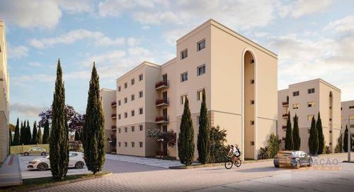 Apartamento Com 2 Dormitórios À Venda, 52 M² Por R$ 157.000,00 - Ana Rech - Caxias Do Sul/rs - Ap0532
