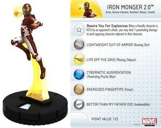 Heroclix - Iron Monger 2.0 #037 - Invincible Iron M - Marvel