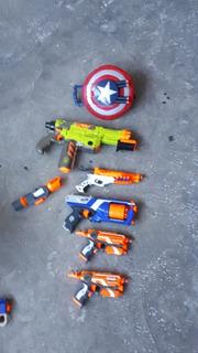 Pistolas Nerf Variadas