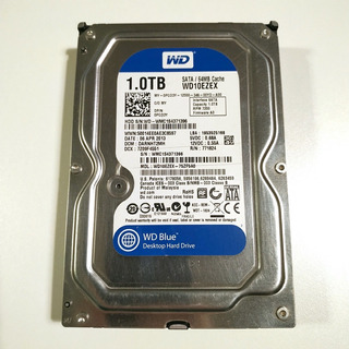 Disco Rígido Hdd Western Digital 1tb Blue Wd10ezex