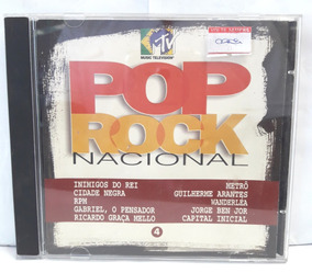Pop Rock Nacional 4 Cd Original
