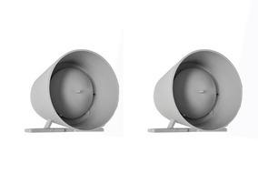 Kit 2 Sirene Para Centrais Alarme E Cerca Eletrica 12v 115db
