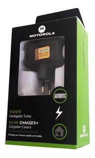 Carregador Turbo Para Motorola Moto G3 G4 G5 Maxx S6
