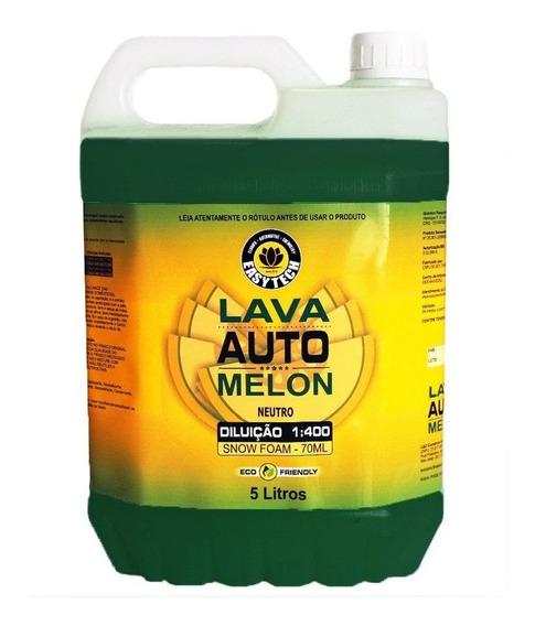 Melon Shampoo Auto Super Concentrado 1:400 5lt Easytech