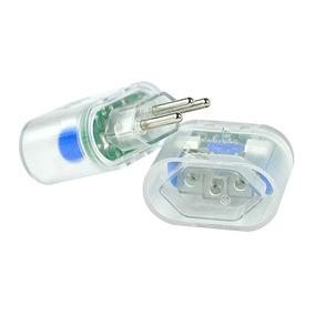Kit 4 Protetor Surtos Raios Dps Pocket 3 Pinos 10199 Clamper
