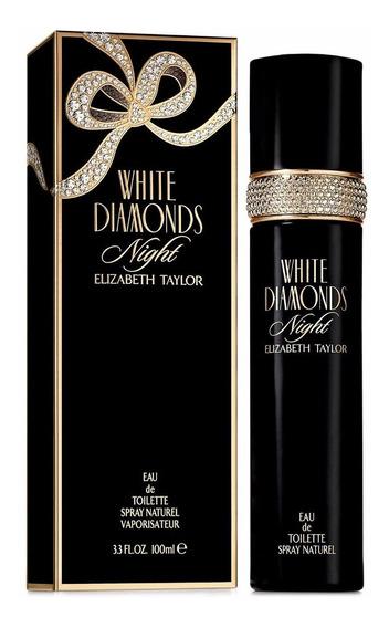 Perfume Elizabeth Taylor White Diamonds Night Edt 100ml