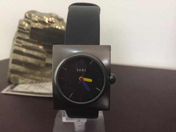 Relógios Feminino De Pulso Quartzo Aço Inoxidável Soki K3179
