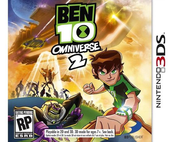 Jogo Ben 10 Omniverse 2 Nintendo 3ds Mídia Física N3ds Novo