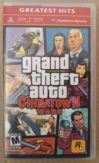 Grand Theft Auto Chinatown Wars Psp Videojuego