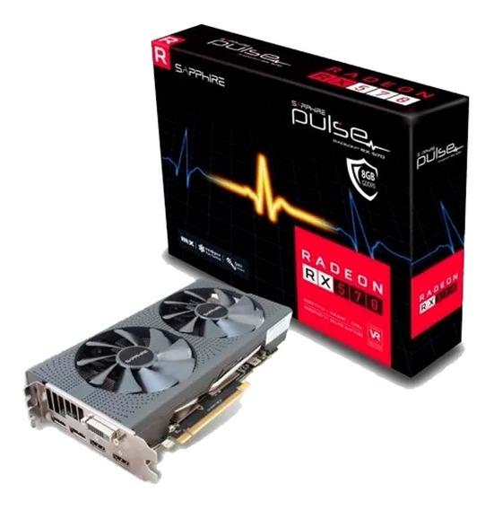 Placa De Video Sapphire Pulse Radeon Rx 570 8gb Ddr5castelar
