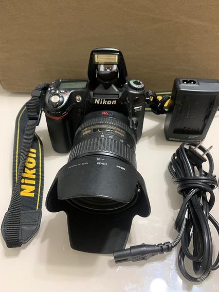Camera Nikon D80 + Lente Afs Nikkor 18-200mm F 3.5-5.6
