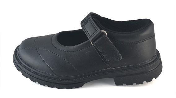 Guillermina Colegial Ecocuero Negro Small Shoes