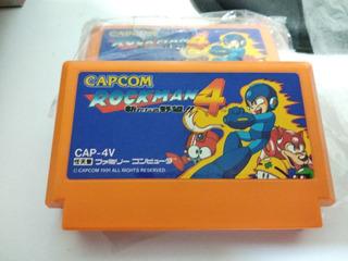 Megaman 4 Rockman 4 Original De Famicon Japones Nes Nintendo