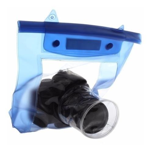 Case Bolsa Capa Bag Estanque Impermeável P/ Câmeras Fotográficas Digitais Sony Nikon Fuji Kodak Canon Samsung Olympus