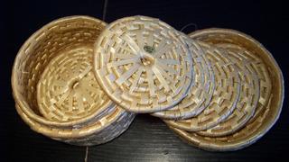 Posa - Apoya Vaso De Maiz Sin Usar - La Plata - Buen Regalo