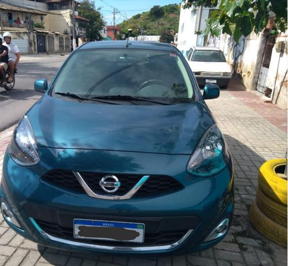 Nissan March 1.6 Sl - 2016 (2º Dono) - 30.000km