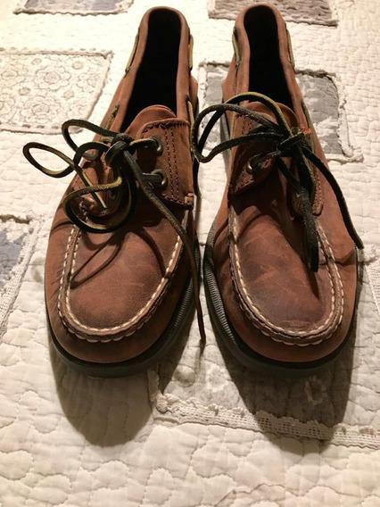 Zapato Leñador N 42 Cuero