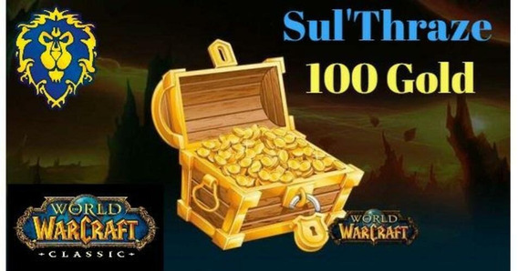 Wow Classico 100 Gold Sul Thraze (aliança)