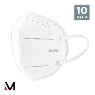 Tapabocas Caja De 10 Unidades Kn95 5 Capas Ajuste Nasal