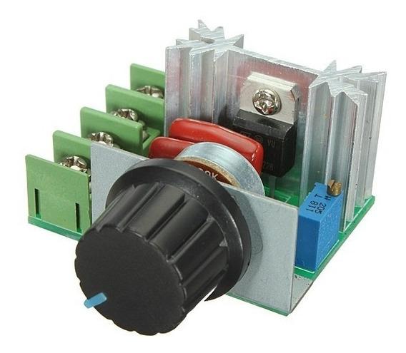 Controlador Potência Ac Dimmer 2000w Bivolt Regulador Tensão