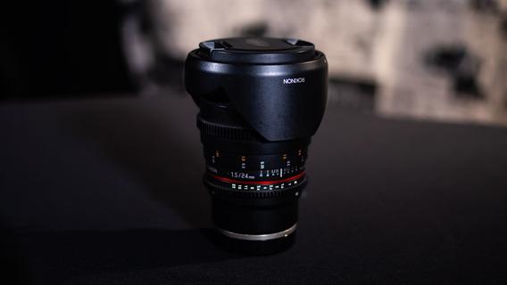 Kit Lente Rokinon 24mm, 35mm, 85mm T1.5 Cine Ds Sony E-mount
