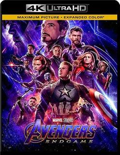 Avengers - Endgame 4k 2160p Ultrahd Digital