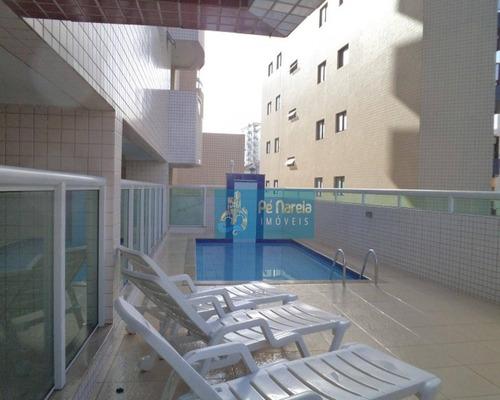 Imagem 1 de 23 de Apartamento Com 2 Dormitórios À Venda, 68 M² Por R$ 330.000,00 - Vila Guilhermina - Praia Grande/sp - Ap0181