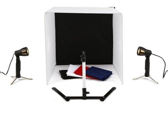 Mini Estúdio Fotográfico Portátil - 50 Cm
