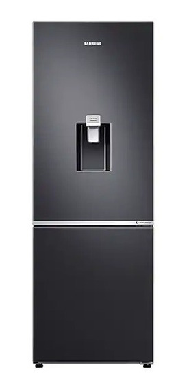Nevera Samsung 313 Lts Negra Black Inox Luz Led - Rb30n4160