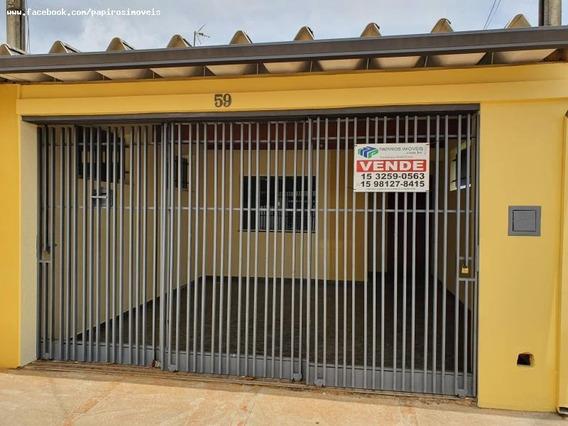 Casa Para Venda Em Tatuí, Jardim Wanderley, 2 Dormitórios, 1 Banheiro, 2 Vagas - 500_1-1326809