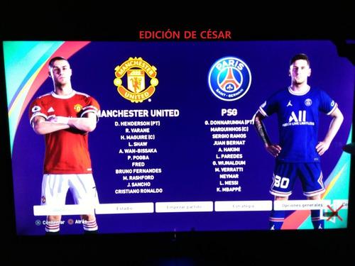 Imagen 1 de 9 de [césar] Parche Liga 1 Movistar Ligas Europeas 2021  Pes2021